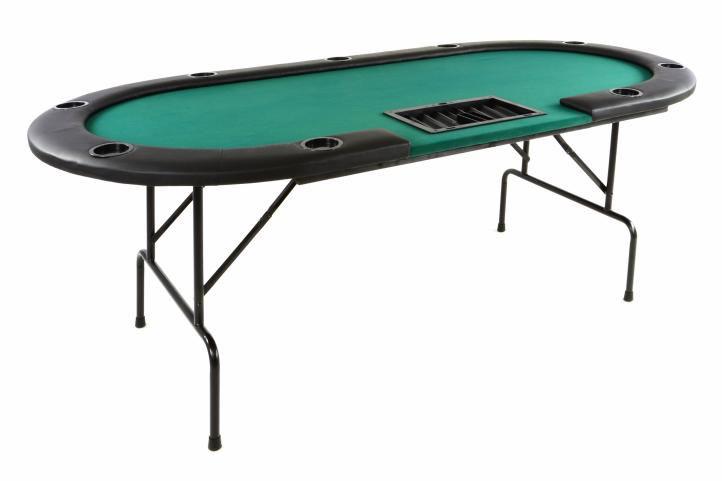 Poker stůl skládací - Black Jack - až pro 9 + 1 hráčů