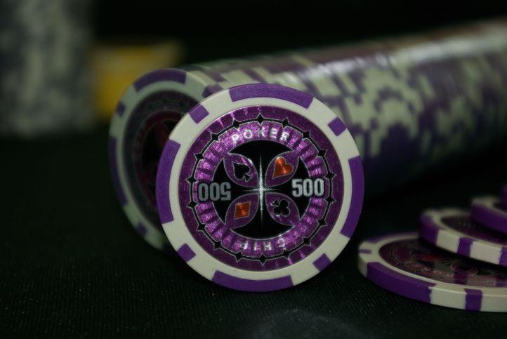 Kusový žeton design Ultimate Hodnota 500 - 50 ks
