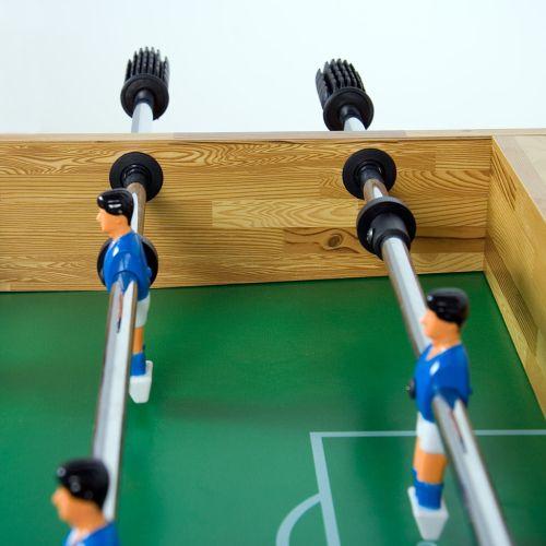 Stolní fotbal fotbálek buk 121 x  101 x  79 cm