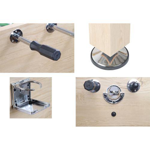 Profi stolní fotbálek - světle hnědý 60 kg
