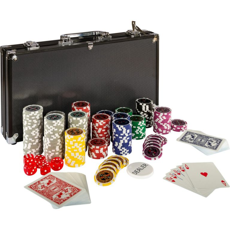 Poker set 300 ks žetonů BLACK EDITION 1 - 1000
