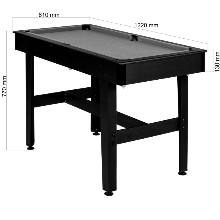 Kulečníkový stůl pool biliard kulečník 4 FT kulečník - s vybavením