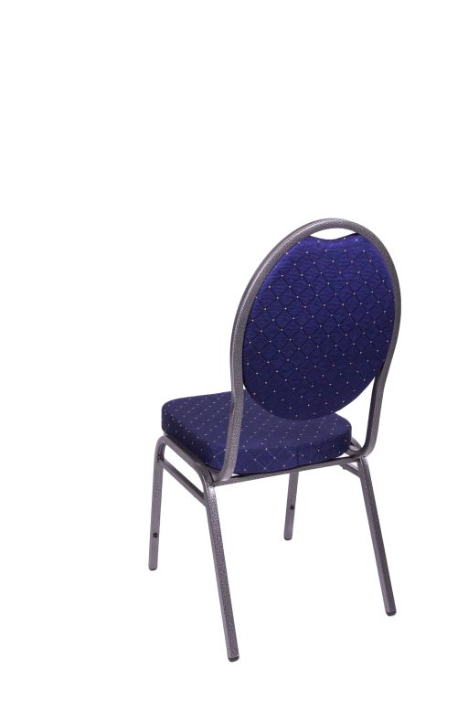 Kongresová židle kovová MONZA- modrá